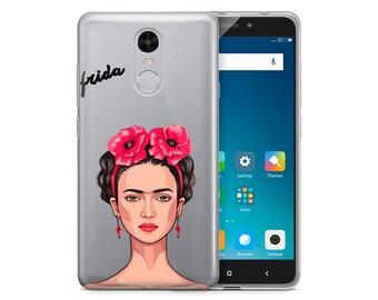 Frida Khalo Clear Phone Case For Xiaomi Redmi Note 4 Xiaomi Redmi Note 4X Xiaomi Redmi 4X Frida Khalo Phone Case Clear Case Xiaomi