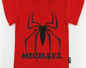 Personalized Superhero T-shirt