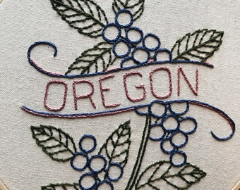 Oregon - Oregon Grape 9'' Hoop