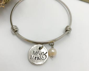 Wedding gift, Bride, Mr. and Mrs.,