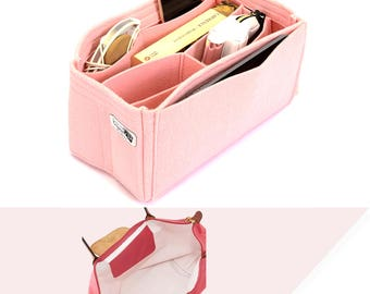 Purse Organizer with Removable Velcro and Middle Compartments for Longchamp Bags ,Longchamp Organizer with Compartments (Express Shipping)