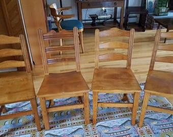 Stickley Rock Maple 1940u0027s Chairs