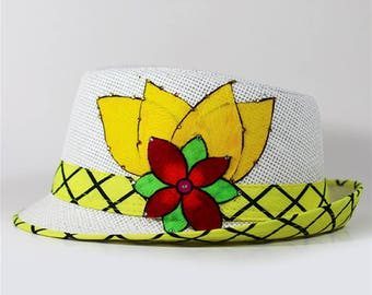 Paruma Decorated Fedora Hat