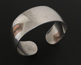 Vintage S. Kirk & Son Fine Sterling Silver Cuff Bracelet