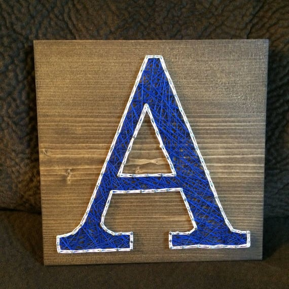 string art letters custom letter initial string name wall decor nursery 13736 | il 570xN.1285676631 gysa