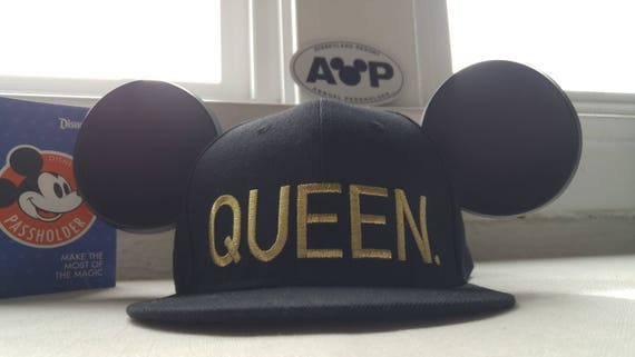 Queen Hat. Mickey Hat. Mickey Ears.