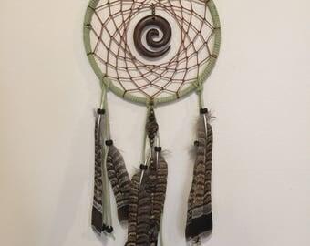 "8"" Sacred Spiral Dreamcatcher"