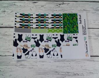 Planner Stickers-Beach Resort  Washi Stickers