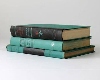 Vintage book decor | Etsy