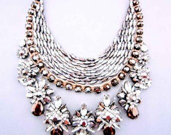 Show Stopper - Bronze Statement Necklace
