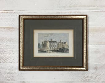 Antique English Framed Print, London