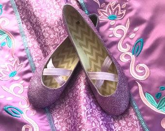 Rapunzel Park Inspired Shoes