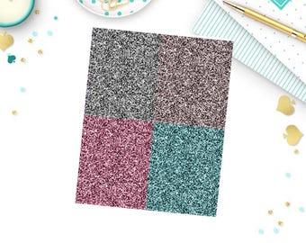Paris Dreams glitter headers