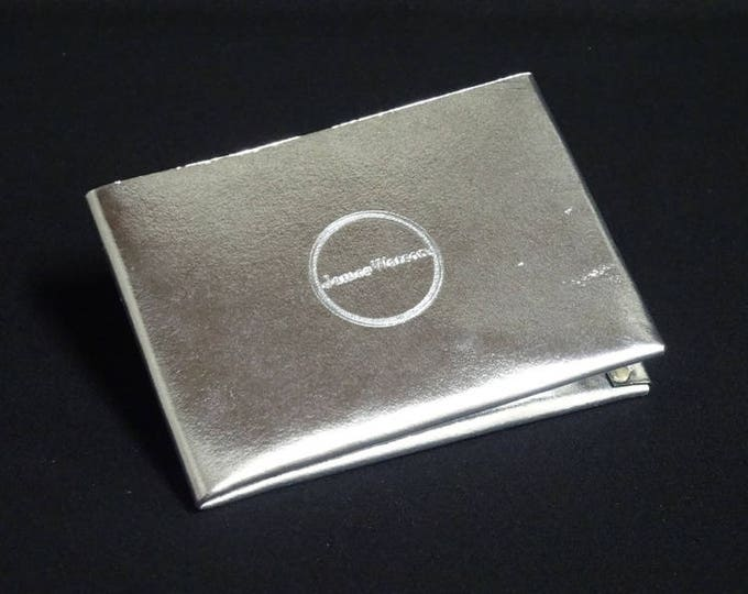 6Pocket Wallet - Silver Chrome - Kangaroo leather with RFID credit card blocking - Handmade - James Watson
