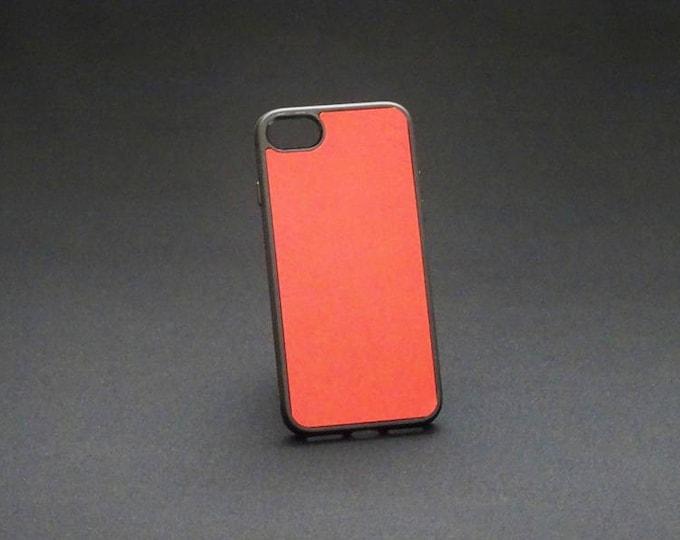 Apple iPhone 7 8 - Jimmy Case in Red - Kangaroo leather - Handmade - James Watson