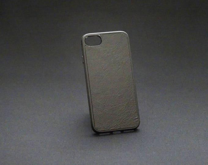 Apple iPhone 7 8 - Jimmy Case in Black - Kangaroo leather - Handmade - James Watson