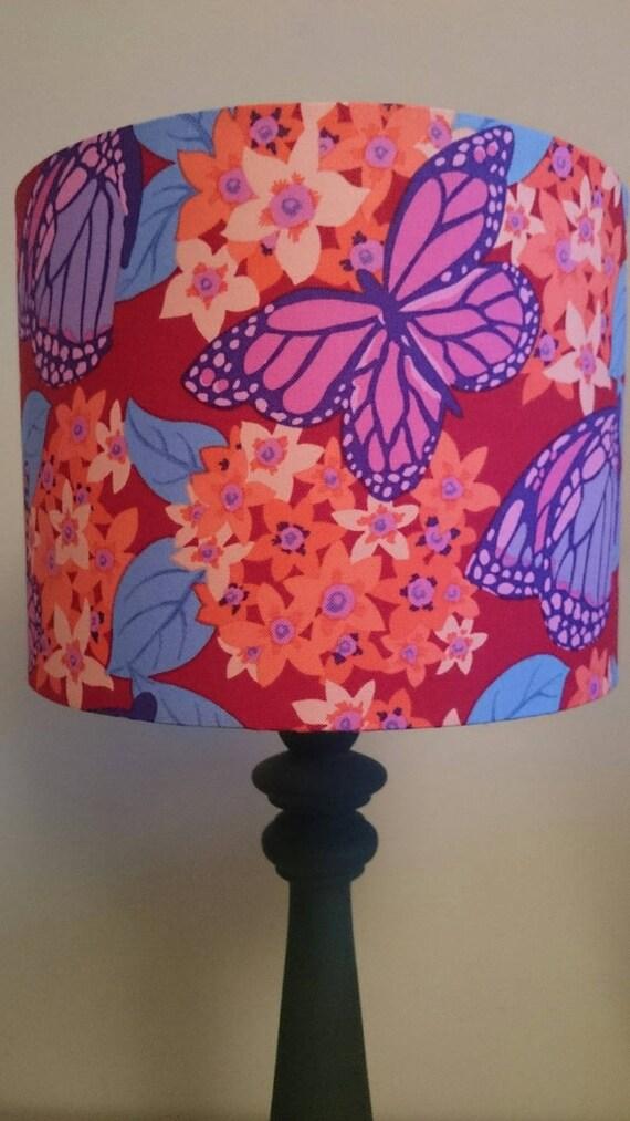 abat jour fait main pour pied de lampe ou suspension motif. Black Bedroom Furniture Sets. Home Design Ideas