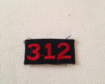 Ford 312 Patch Rare