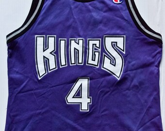 88f46f07f985 ... Chris Webber Sacramento Kings NBA Champion basketball jersey vintage ...
