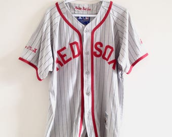 Boston Red Sox Vintage Starter Cooperstown Collection Baseball Jersey