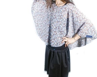 Cape capelet Renenesmee cover-up for summer flowers Sanlivine