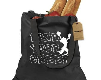 Find Your Cheer Shopping Tote Bag