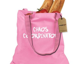 Chaos Coordinator Shopping Tote Bag