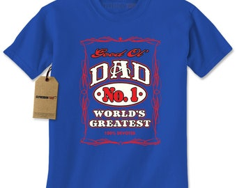 Good Ol Dad 100% Devoted Mens T-shirt
