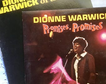 Dionne Warwick LOT In The Valley of The Dolls - Promises, Promises LP Original 1968 Scepter Records #Soul