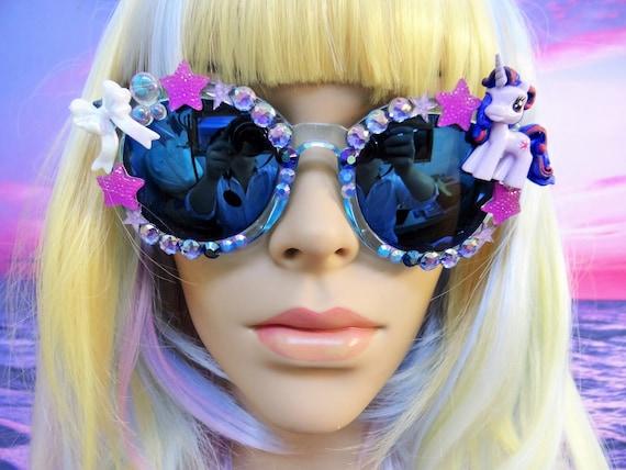 UNICORN My Little Pony * Twilight Sparkle * Sunglasses Sun Glasses Sunnies Wayfarers Aviators Mirrored Mirror Mermaid Kawaii Disney A009