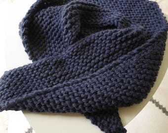 The blue child oversize shawl