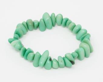 Rumi - Tagua Pebble Bracelet