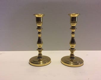 Baldwin Brass Candlesticks set of 2