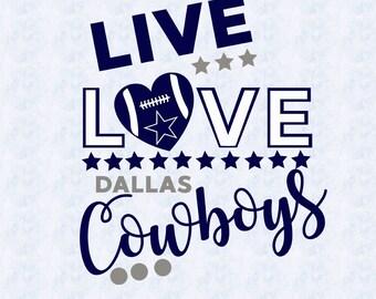 Download Love dallas cowboys | Etsy