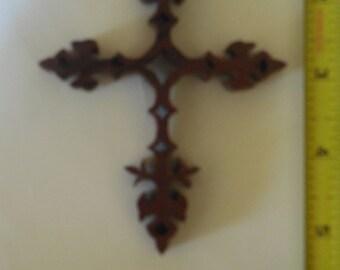 purple heart wood cross