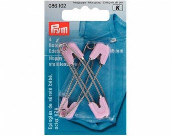 Baby 1 16x55mm stainless steel safety pins