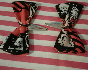 Betty Boop Snap Clip Bows