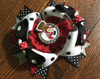 Ohio State Buckeyes Over The Hair Bow