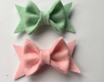 sale. extra mini pinch bow with tails.