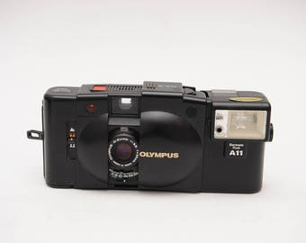 Olympus XA2 with A11 Flash Iconic Rangefinder Camera