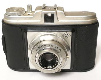 Vintage Agfa Isola Middle Format 120-Film Camera from 1950s