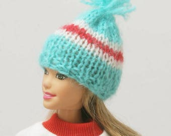 Barbie knitted hat