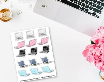 Laptop Planner Stickers