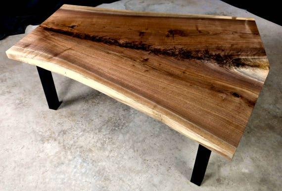 SALE! Walnut Crotch Coffee Table