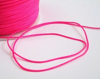 5 m wire hot pink nylon 1 mm