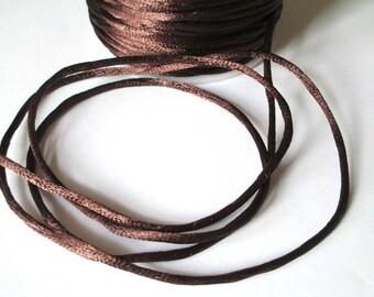 5 m tail Brown nylon thread 2mm rat