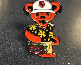 Grateful Dead / Hunter S. Thompson Hat Pin