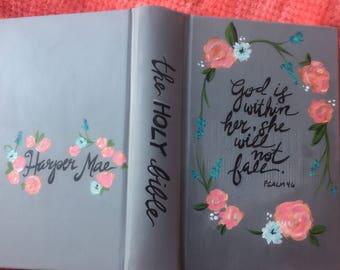 Custom Bibles: Hand Painted