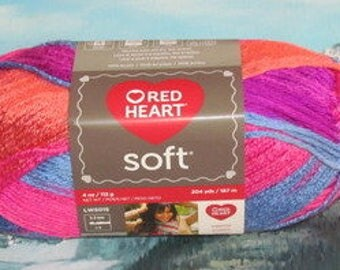 7289954 Red Heart Soft 4 oz Bohemiam