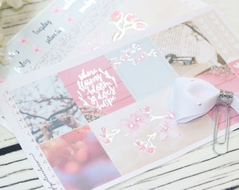 FOIL FEB SimplyFoiledKits (Silver Foiled) Cherry Blossom